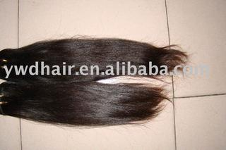 100% remy human hair weaving unprocessed brazilian hair with full cuticle