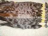 Top quality unprocessed virgin nature russia hair /naturally thin curly hair hot sale with factory price