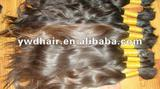 factory price!!! pure unprocessed virgin peruvian bulk hair/unprocessed virgin culry hair without any chemical processing