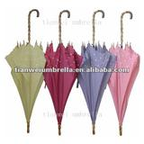 Ladies' Auto Open Umbrella with Metal Frame