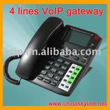 4 VoIP Phone,SIP VoIP Phone,with H.323 and SIP protocols