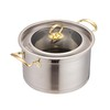 Stainless steel casserole pot