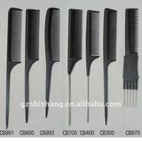 High quality tail comb set for salon professional