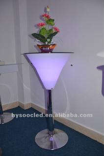 color bar/high bar tables and chairs/nightclub bar counter/led cube tables