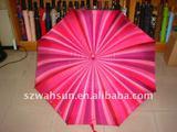 "23"" x8Kx10mm straight auo metal gift umbrella"