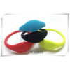 Rfid smart silicone wristband for adult and kids support 125khz ane 13.56Mhz