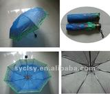 21''*8K manual open folding umbrella
