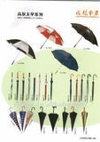 30''*8K golf umbrella with 190T pongee fabric