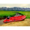 Saturn Aluminum floor inflatable boat