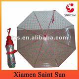 Foldable Transparent POE Umbrella