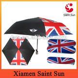 UK Flag Shape Foldable Umbrella