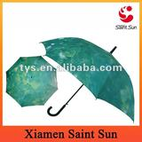 Leaf Print Long Umbrella