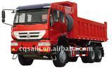 6x4 Tractor Dump Truck SINOTRUK Gloden Prince Steyr engine