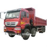 Building Site Truck SINOTRUK dump truck Euro 3 dump truck