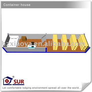 40ft Container Shopping House