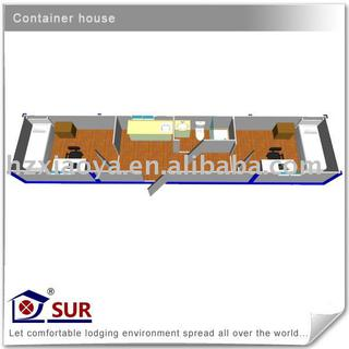 Prefab 40ft modular Container House