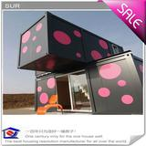 prefab 20' Container house(prefabricated house, mobile container house)