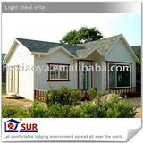 middle cost prefabricated villa
