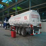 2006 Export to Madagascar -- Fuel Tank Trailer Series (Rear 3-axle)