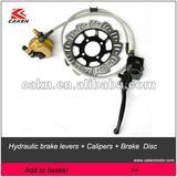 Hydraulic brake levers + Calipers + Brake Discb dirt bike parts
