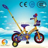 "2012 Hot Sale 10"" Kid Cartoon Bike Bicycle With Steering Bar CE"