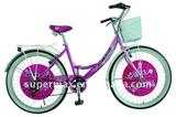 """24"""" super quality 6 speed city bike bicycle with carrier,basket CE"""