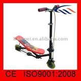 Rocking kick scooter for kids