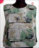 NIJ IV/NIJ III/NIJ IIIA level hard steel alloy ballistic bulletproof vest /jacket