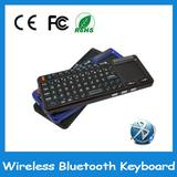 handheld ultra mini Rechargeable bluetooth keyboard with touchpad &Laser pointer