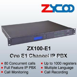 1U IP PBX---ZX100-E1