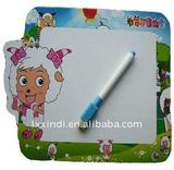 21x30 plastic frame magnetic whiteboard,promotional magnetic whiteboard with frame