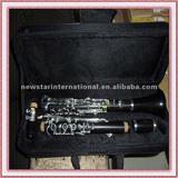 musical instruments G tone ebony clarinet