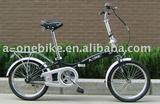 18INCH HI-TEN STEEL SINGLE SPEED FOLDING BIKE/ FOLDING BIKES/FOLDING BICYCLE