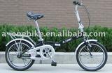18INCH HI-TEN STEEL SINGLE SPEED FOLDING BIKE/FOLDING BICYCLE/FOLDING BIKES