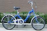 20INCH HI-TEN STEEL SINGLE SPEED FOLDING BIKE/FOLDING BICYCLE/FOLDING BICYCLES