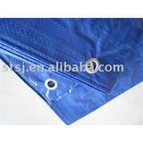 blue pe/pp tarpaulin for tent