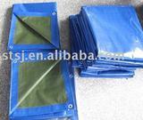blue and green PE tarpaulin PE tarp