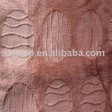polyester carved sofa velvet fabric/velour fabric/tricot fabric/sx021