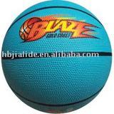 full color cheap rubber basketball 2012