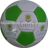 Machine stitched PVC football