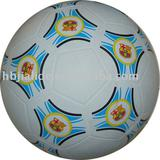 Smooth surface rubber football