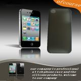 Black clear Hard Back Case for iphone 4 4s