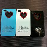 Hearts & Flowers Hard Cover Case For IPHONE4 4s