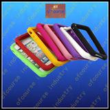 bumper Case Silicone Bumper Frame for iPhone 4 4s colorful case