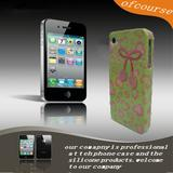 Hot Sale New Flash Powder TPU Case Cover for iPhone4G 4S colorful glitter case