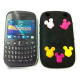 Mickey mouse phone case for blackberry 9220 9320