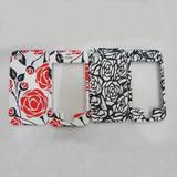 Rose flower design case For iphone 4 4s