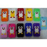 5G penguin fashion silicone case for iphone,cover for iphone 5,cartoon penguin cover