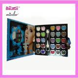 25 colors wallet eyeshadow  palette