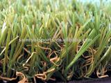 30mm 4 colors straight&curly decoration plastic grass